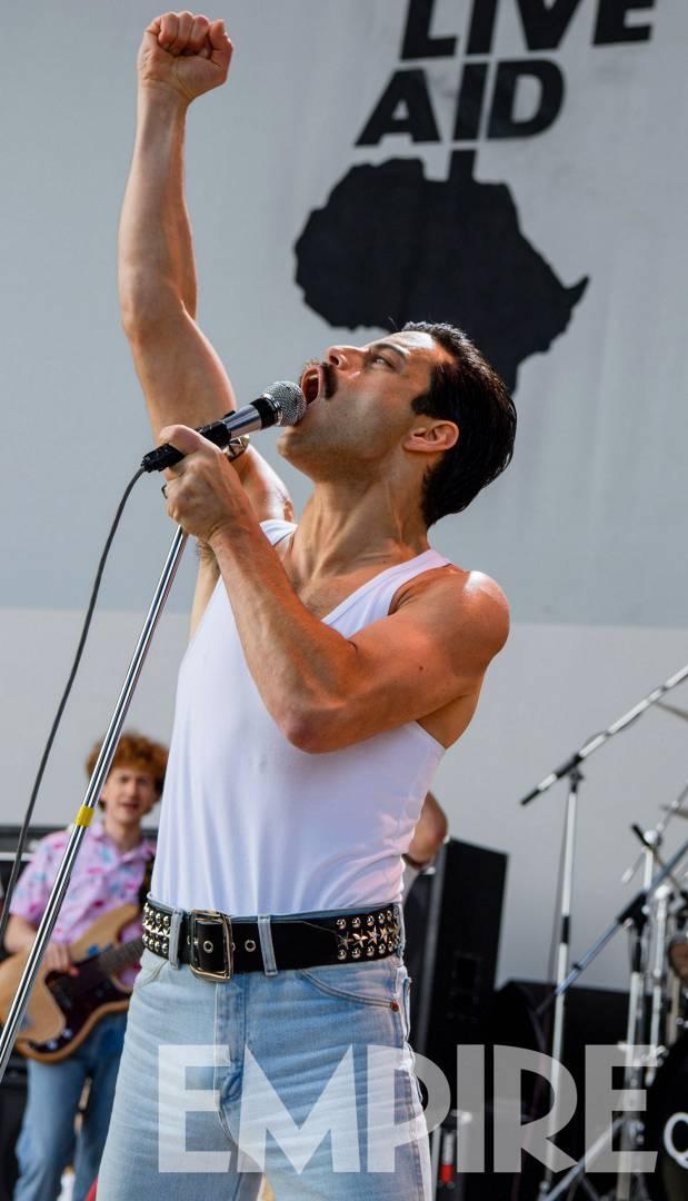 Rami Malek - Live Aid - foto empireonline.com