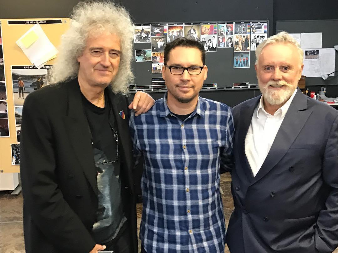 Brian i Roger z reżyserem
