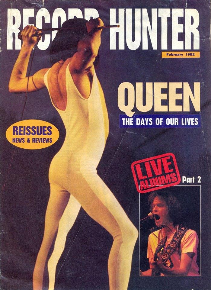 Freddie Mercury magazyn okładka --008