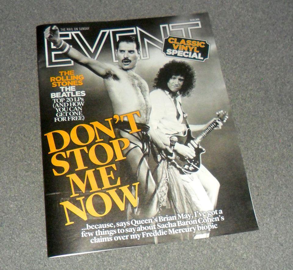 Freddie Mercury magazyn okładka --010