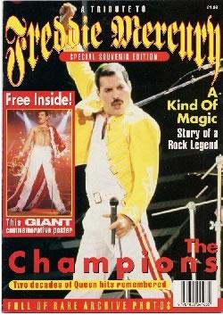 Freddie Mercury magazyn okładka --024
