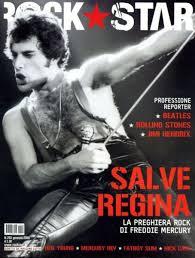 Freddie Mercury magazyn okładka --036