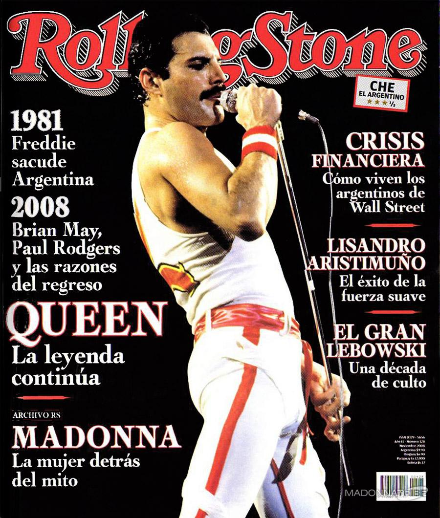 Freddie Mercury magazyn okładka --081