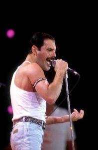 Mercury na koncercie Live Aid 13 lipca 1985 r.