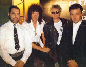 Freddie i Queen w roku 1989