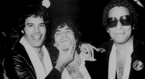 Freddie, Eric i Peter Straker