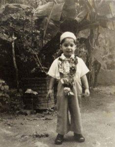 Freddie Mercury jako dziecko