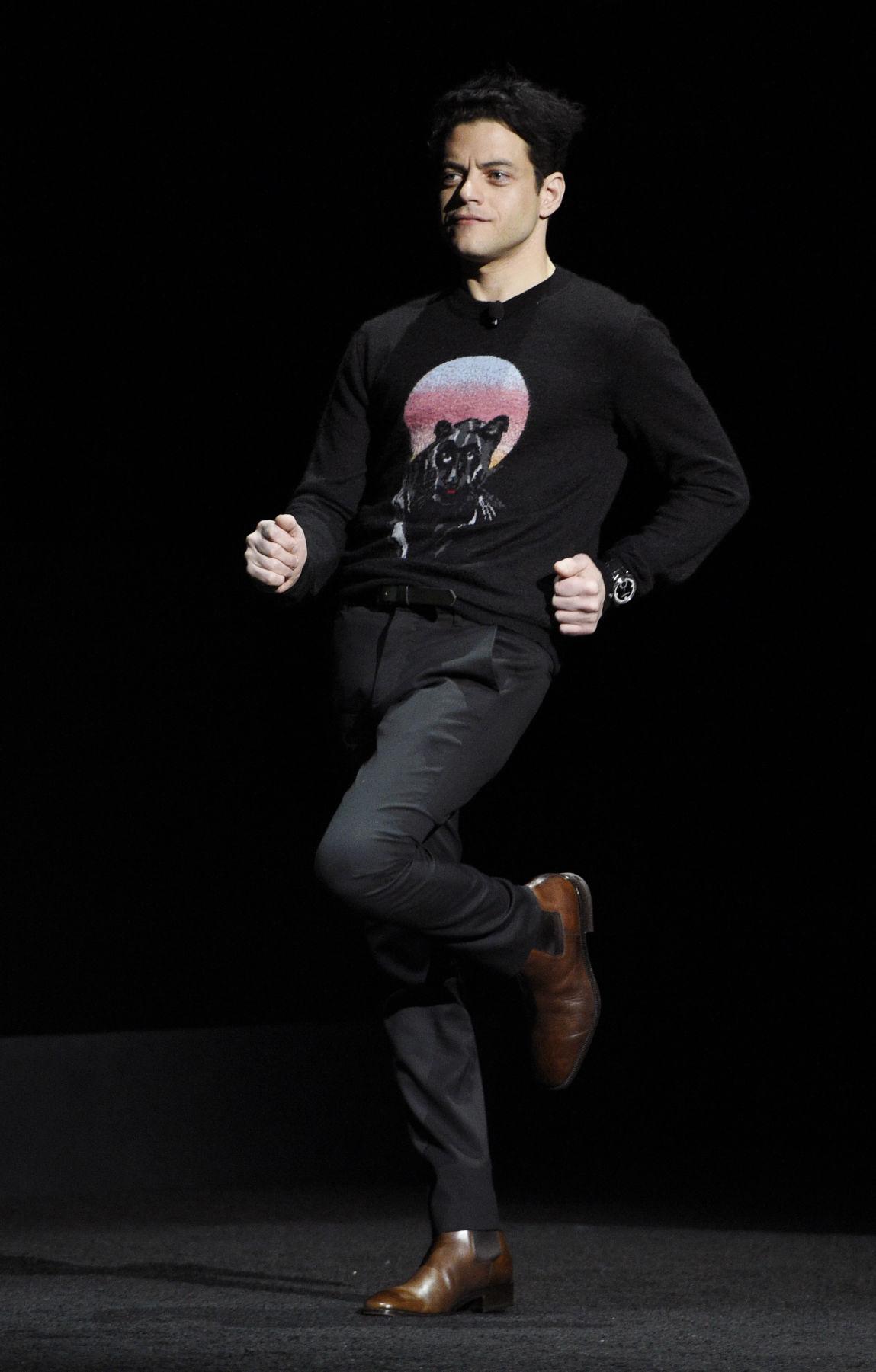 Rami Malek w kwietniu 2018 r. na CinemaCon - foto Star Herald