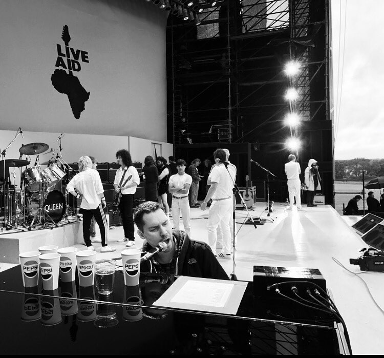Bryan i scena Live Aid