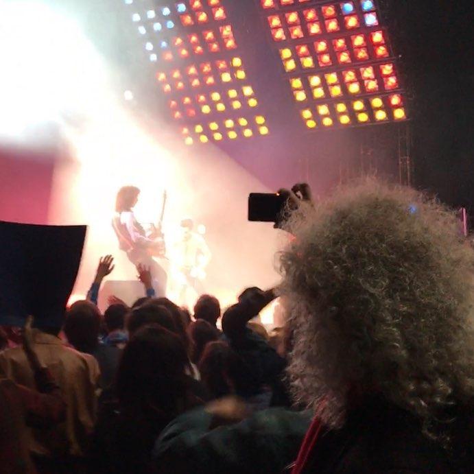 Brian naplanie filmu Bohemian Rhapsody - scena koncertu z 1981 r.