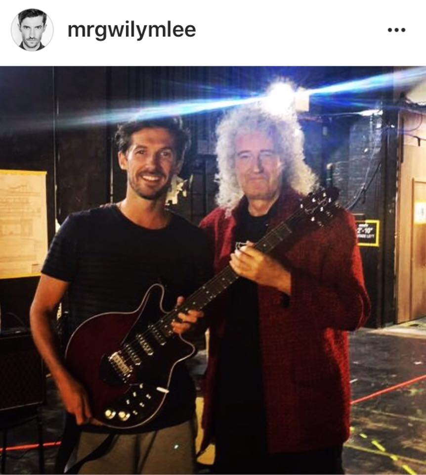Gwilym Lee i Brian May