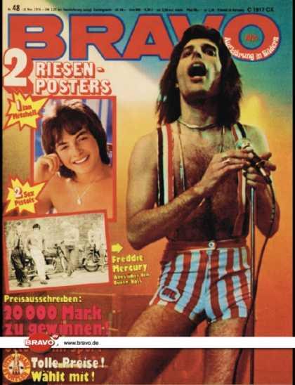 Freddie Mercury magazyn okładka --003