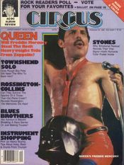 Freddie Mercury magazyn okładka --014