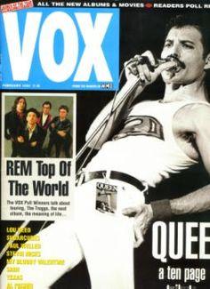 Freddie Mercury magazyn okładka --021