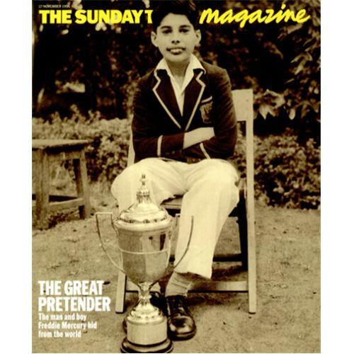 Freddie Mercury magazyn okładka --031