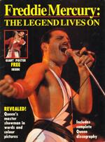 Freddie Mercury magazyn okładka --066