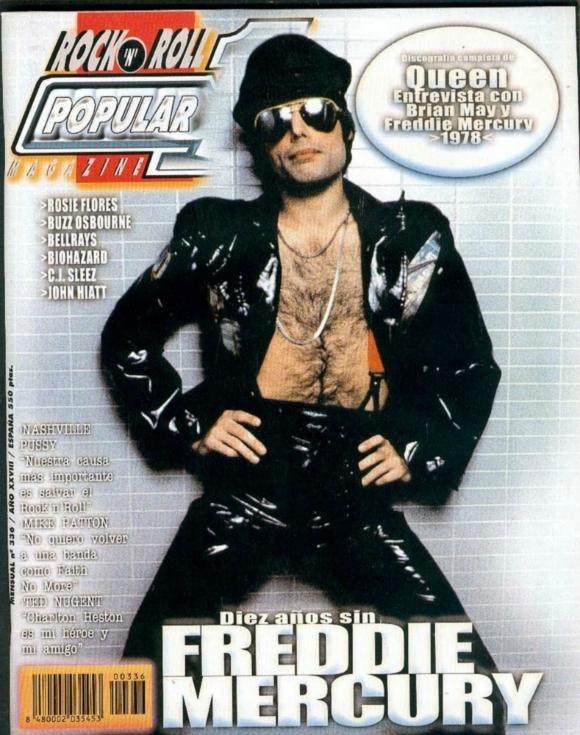 Freddie Mercury magazyn okładka --073