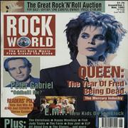 Freddie Mercury magazyn okładka --079