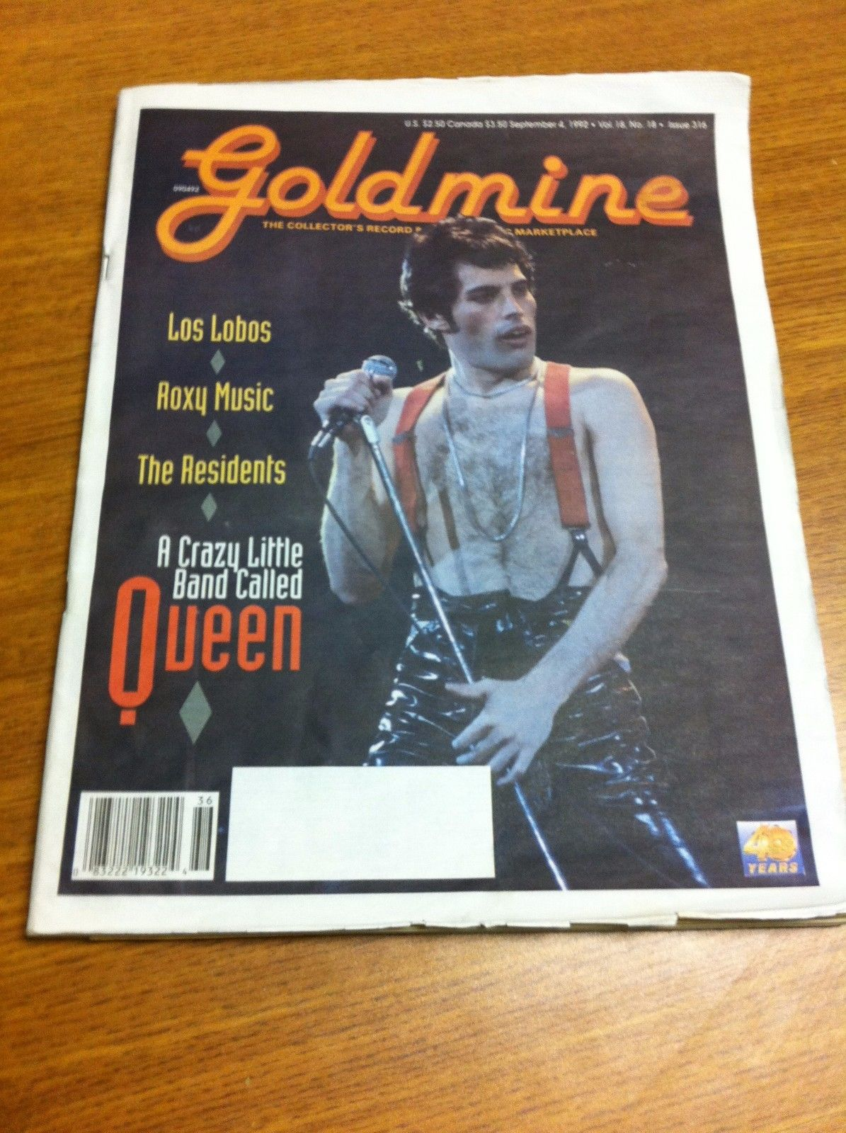 Freddie Mercury magazyn okładka --089